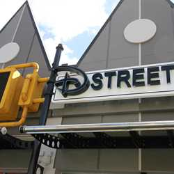 West Side D-Street new paint scheme for Disney Springs