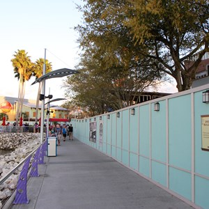 5 of 5: Disney Springs - West Side High Line construction