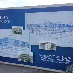 1 of 3: Disney Springs - Disney Springs West Side Parking Garage concept art