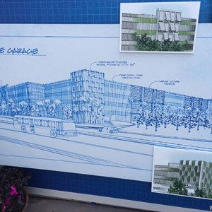 3 of 3: Disney Springs - Disney Springs West Side Parking Garage concept art