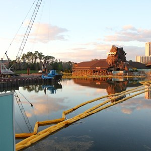 2 of 3: Disney Springs - Marketplace Causeway construction