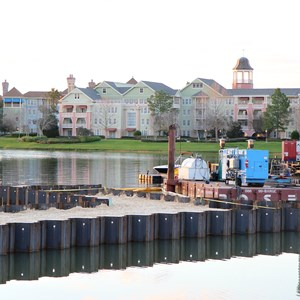 3 of 3: Disney Springs - Marketplace Causeway construction