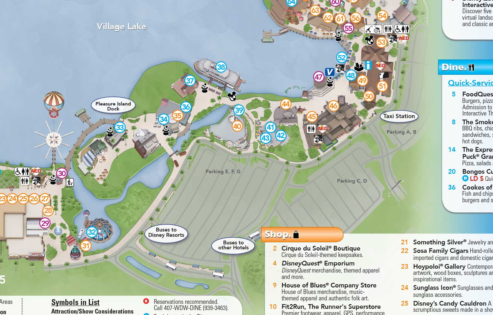More parking lots to close at Downtown Disney for Disney Springs