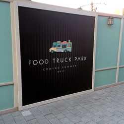 Food Truck Park construction