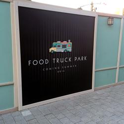 Food Truck Park construction