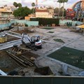 Disney Springs - Food Truck Park construction site