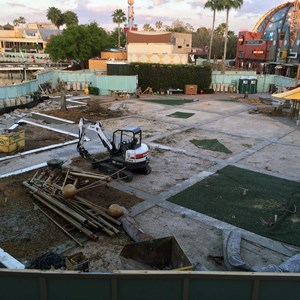 2 of 2: Disney Springs - Food Truck Park construction site