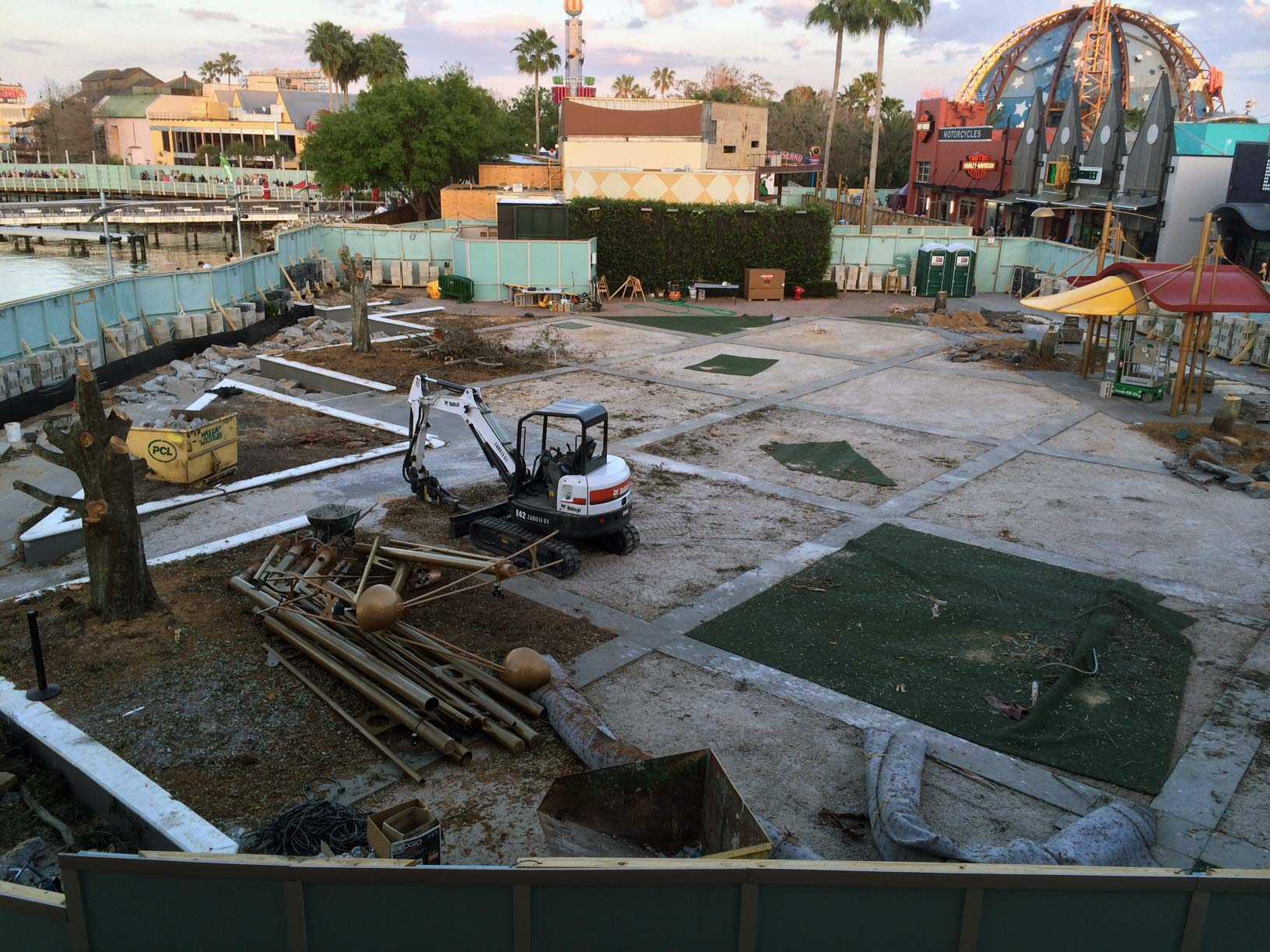 Food Truck Park construction site