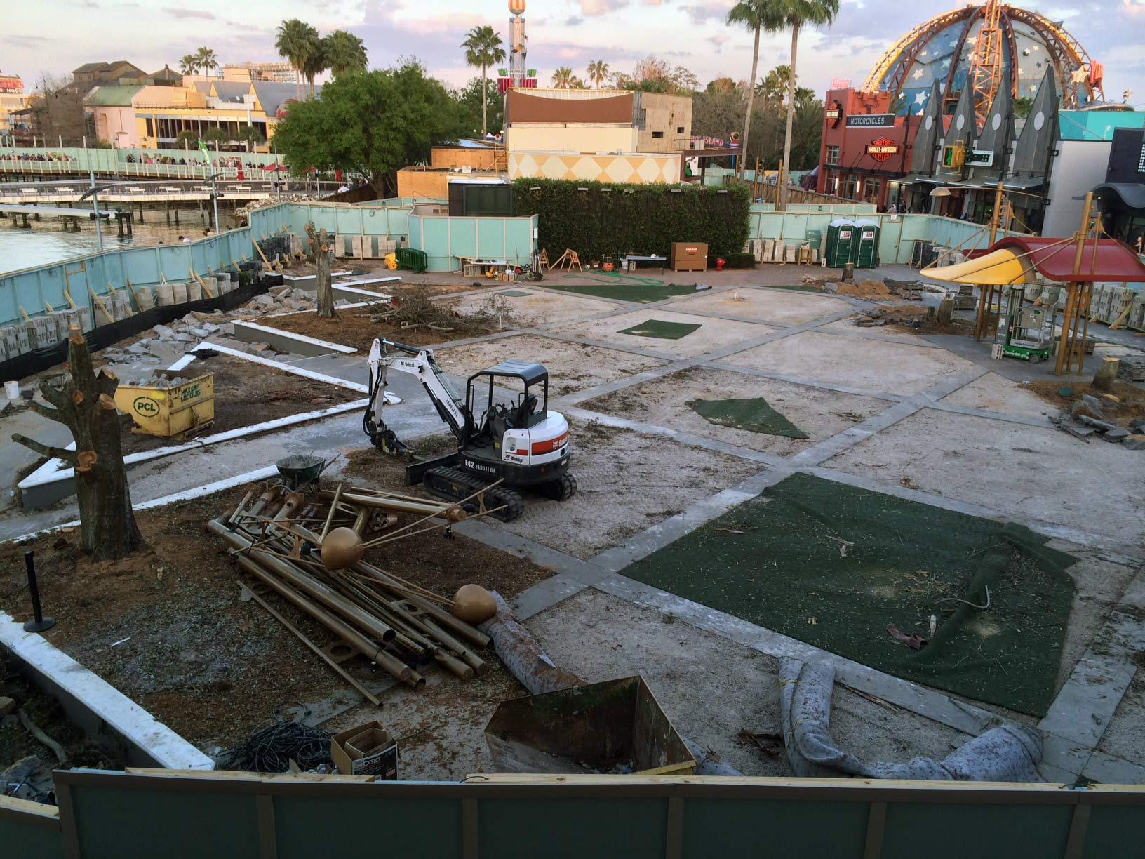 Food Truck Park construction site