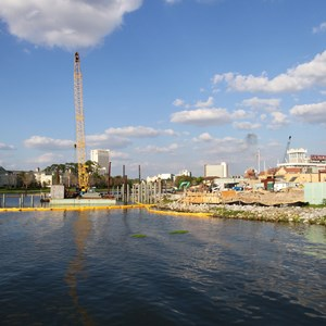 1 of 2: Disney Springs - The Boat House construction