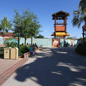 2 of 4: Disney Springs - Pollo Campero demolition