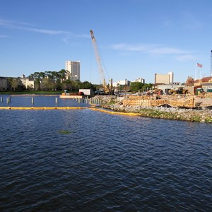 1 of 3: Disney Springs - The Boathouse Construction