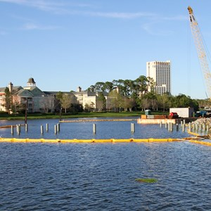 3 of 3: Disney Springs - The Boathouse Construction