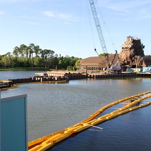 2 of 2: Disney Springs - Marketplace Causeway construction
