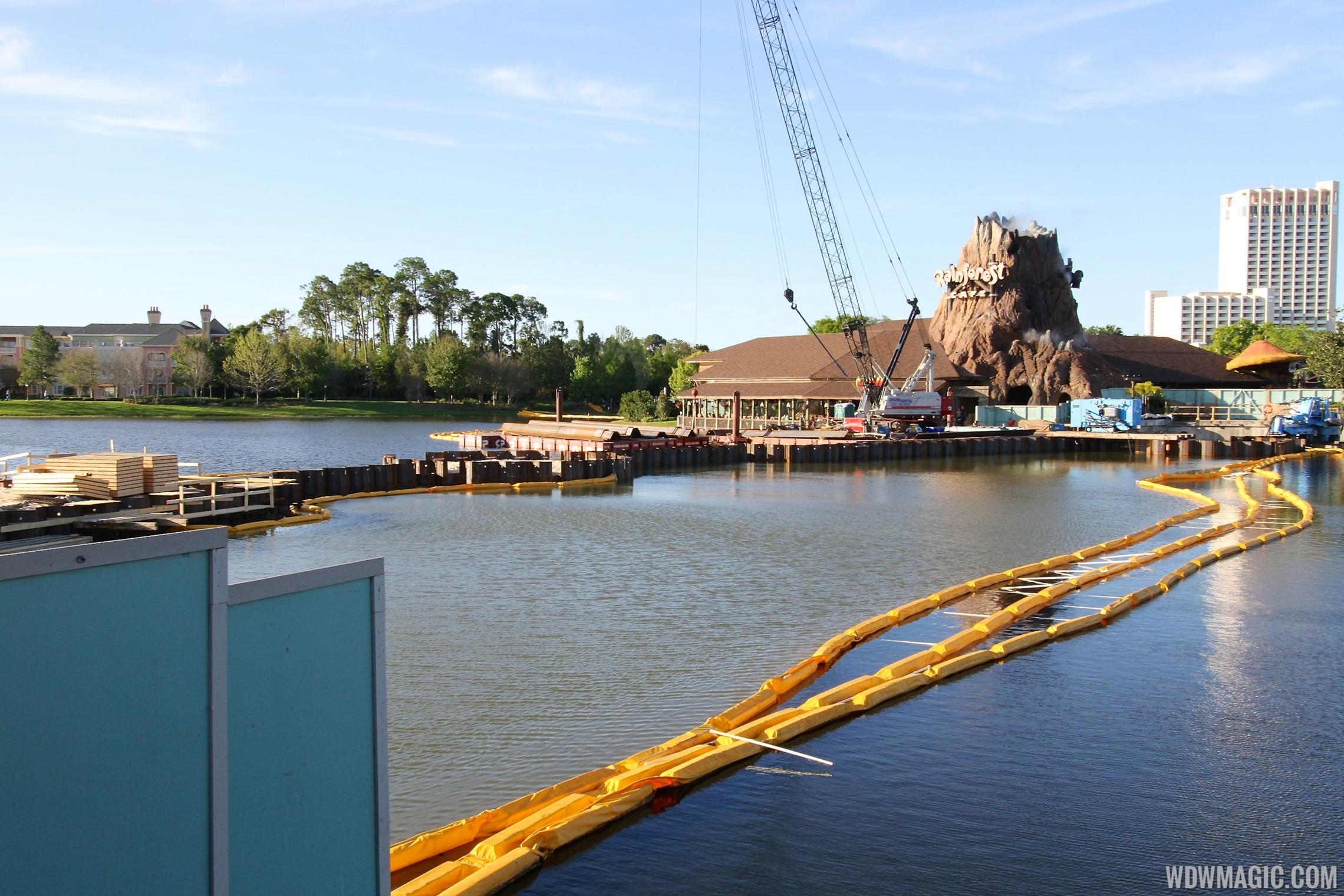 Marketplace Causeway bridge construction