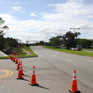 2 of 4: Disney Springs - Buena Vista Drive expansion road works