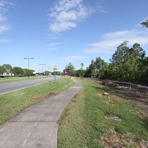 3 of 4: Disney Springs - Buena Vista Drive expansion road works