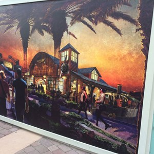 1 of 1: Disney Springs - 'The Hangar' restaurant concept art