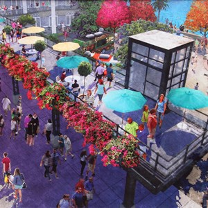 2 of 2: Disney Springs - Food Truck Park concept art