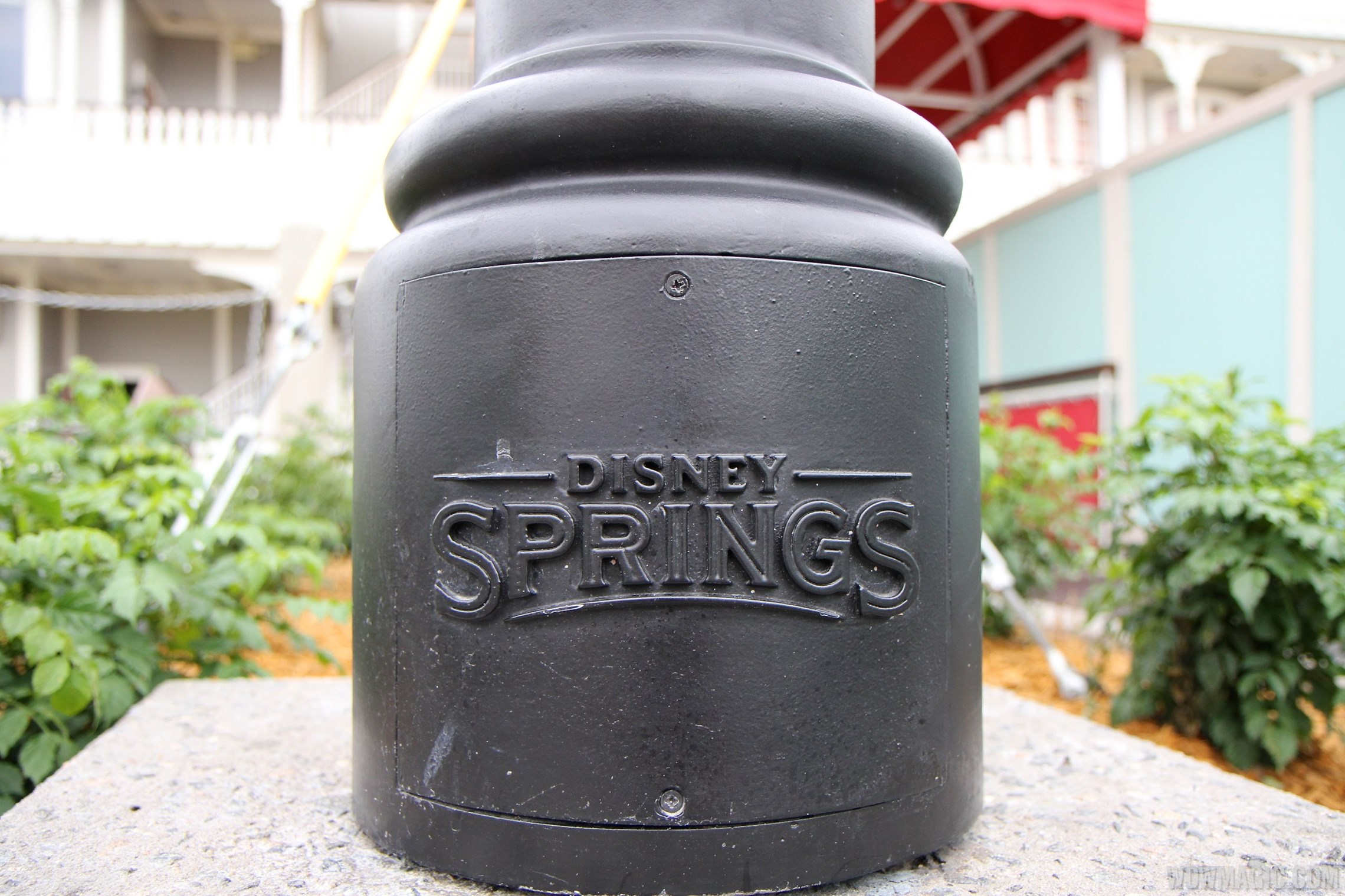 Disney Springs sidewalk details