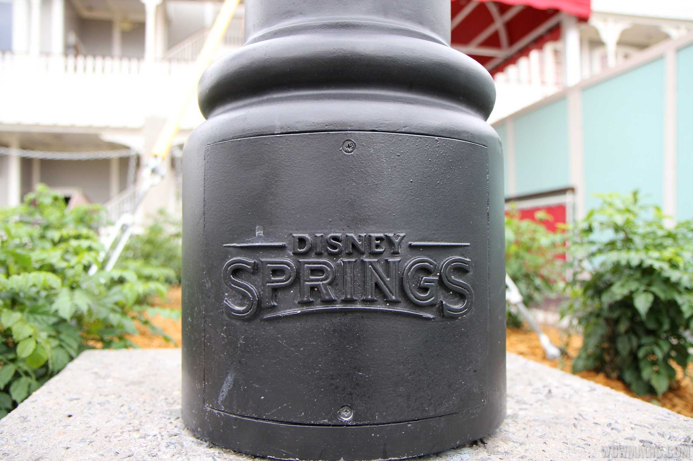 Disney Springs lamp