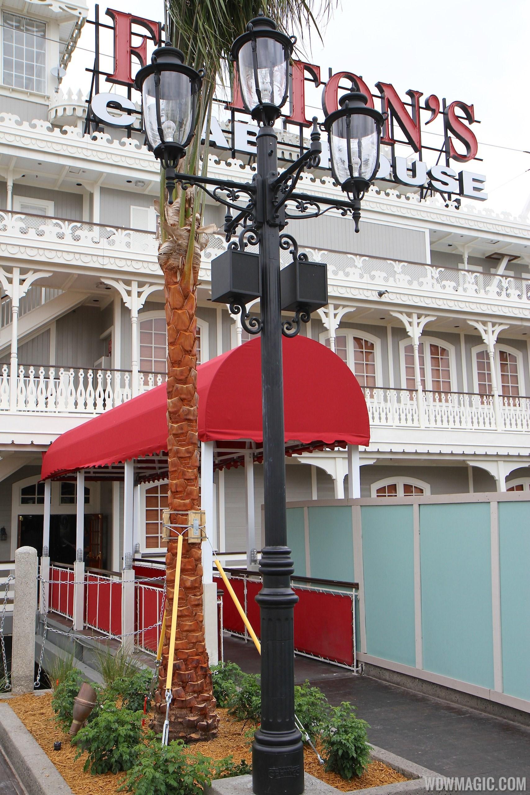Disney Springs sidewalk details