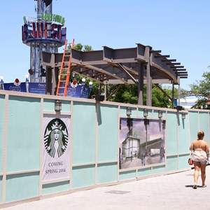 1 of 5: Disney Springs - Disney Springs West Side Highline construction