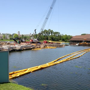 1 of 5: Disney Springs - Marketplace Causeway construction