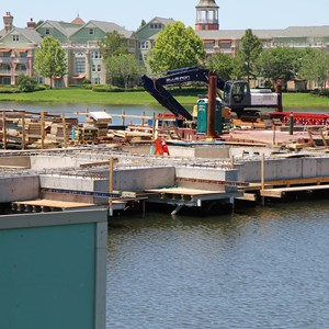 2 of 5: Disney Springs - Marketplace Causeway construction
