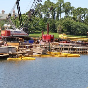 3 of 5: Disney Springs - Marketplace Causeway construction