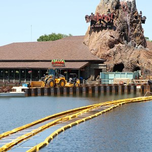 4 of 5: Disney Springs - Marketplace Causeway construction