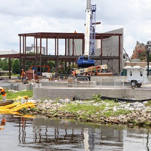 1 of 2: Disney Springs - The Boathouse Construction