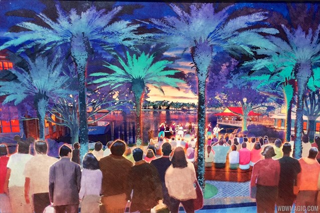 Disney Springs - Concept art for 'The Landing'