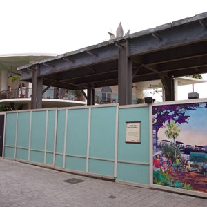 4 of 4: Disney Springs - Food Truck Park elevated highline structure construction