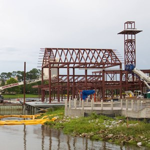 2 of 2: Disney Springs - The Boathouse construction
