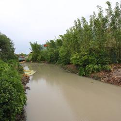 Waterway removal around Pleasure Island
