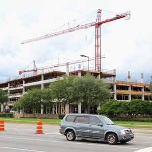3 of 5: Disney Springs - Disney Springs West Side parking garage construction