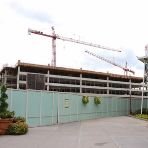 5 of 5: Disney Springs - Disney Springs West Side parking garage construction
