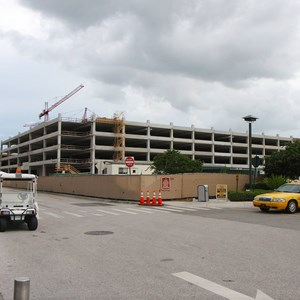 1 of 5: Disney Springs - Disney Springs West Side parking garage construction