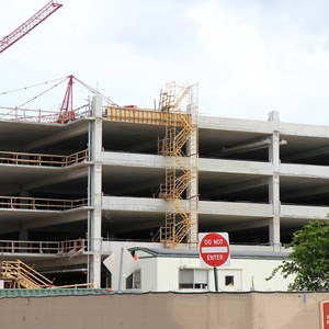 2 of 5: Disney Springs - Disney Springs West Side parking garage construction