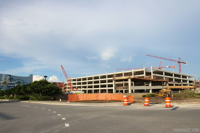 Disney Springs West Side parking garage