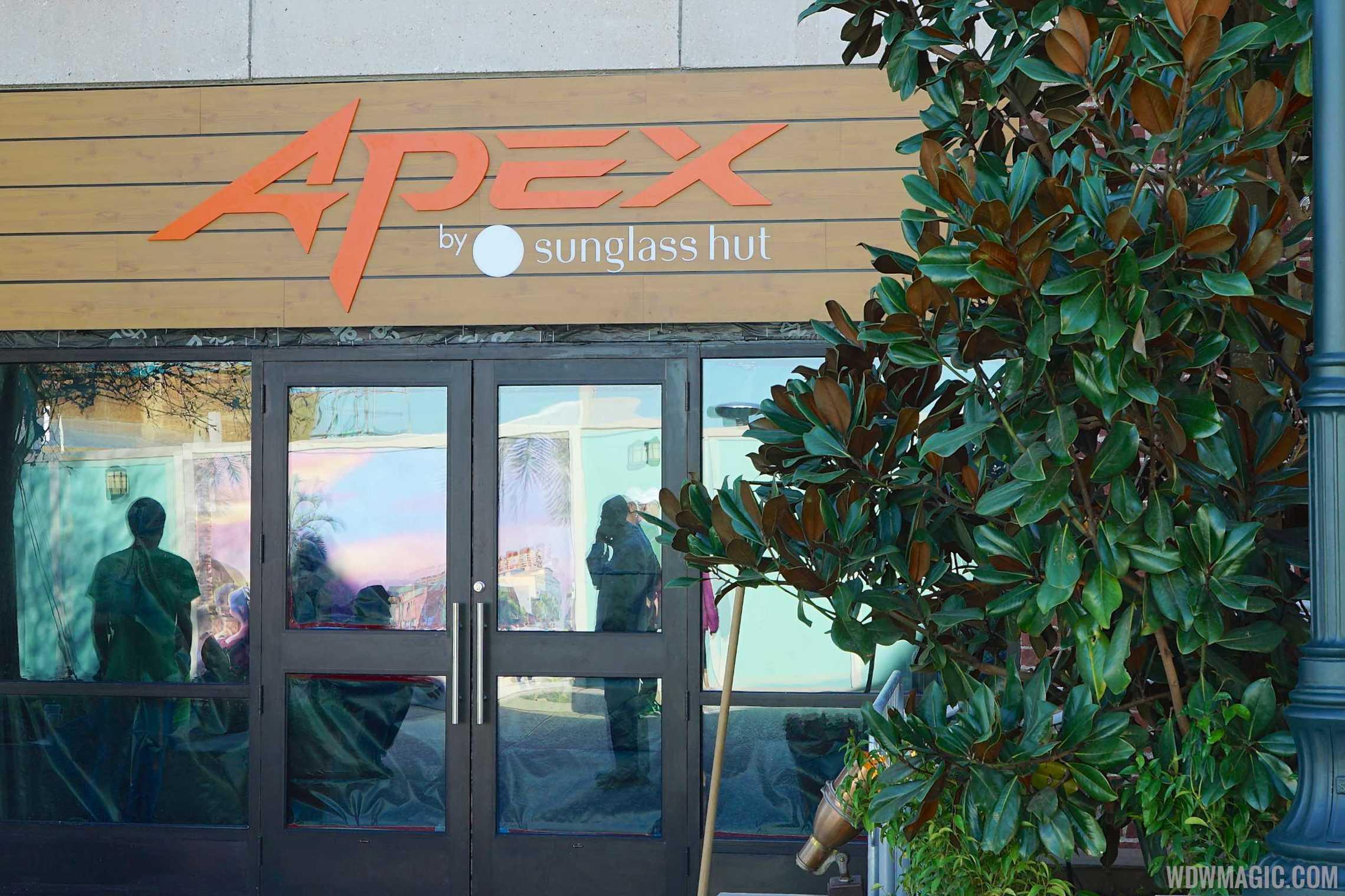 Apex by Sunglass Hut Signage