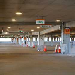 West Side Parking Garage available space sensor system