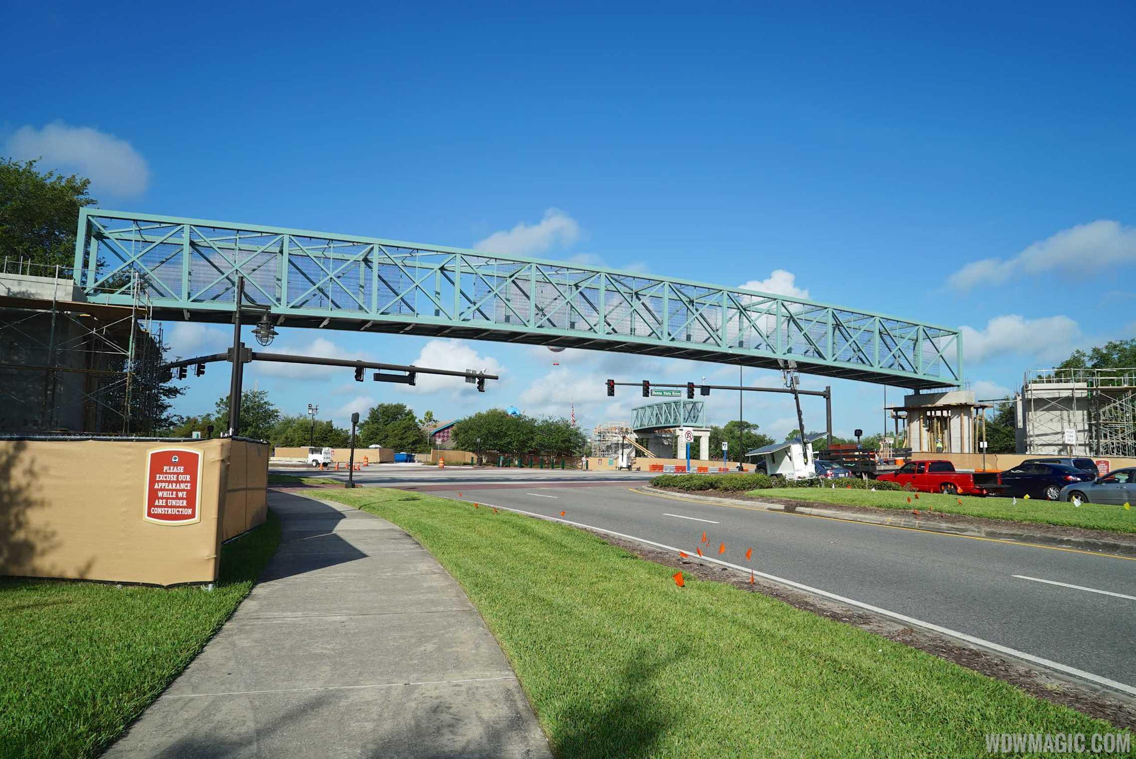 Disney Springs pedestrian bridge