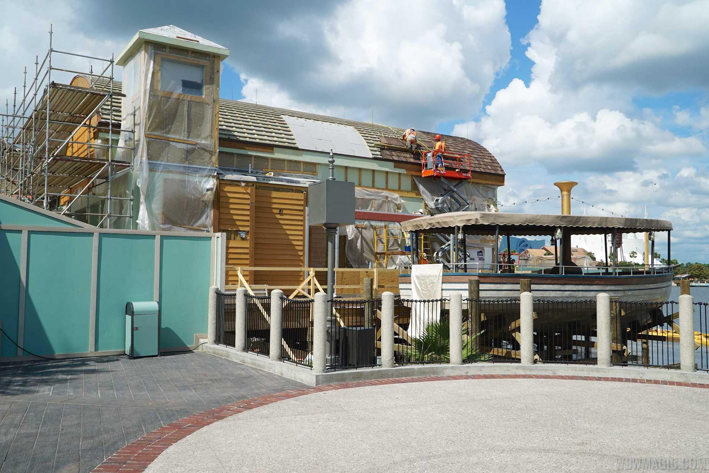 Jock Lindsey's Hangar Bar construction progress
