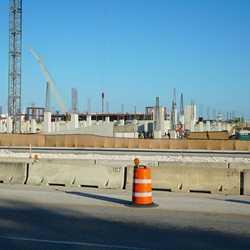 Disney Springs East Parking Garage construction