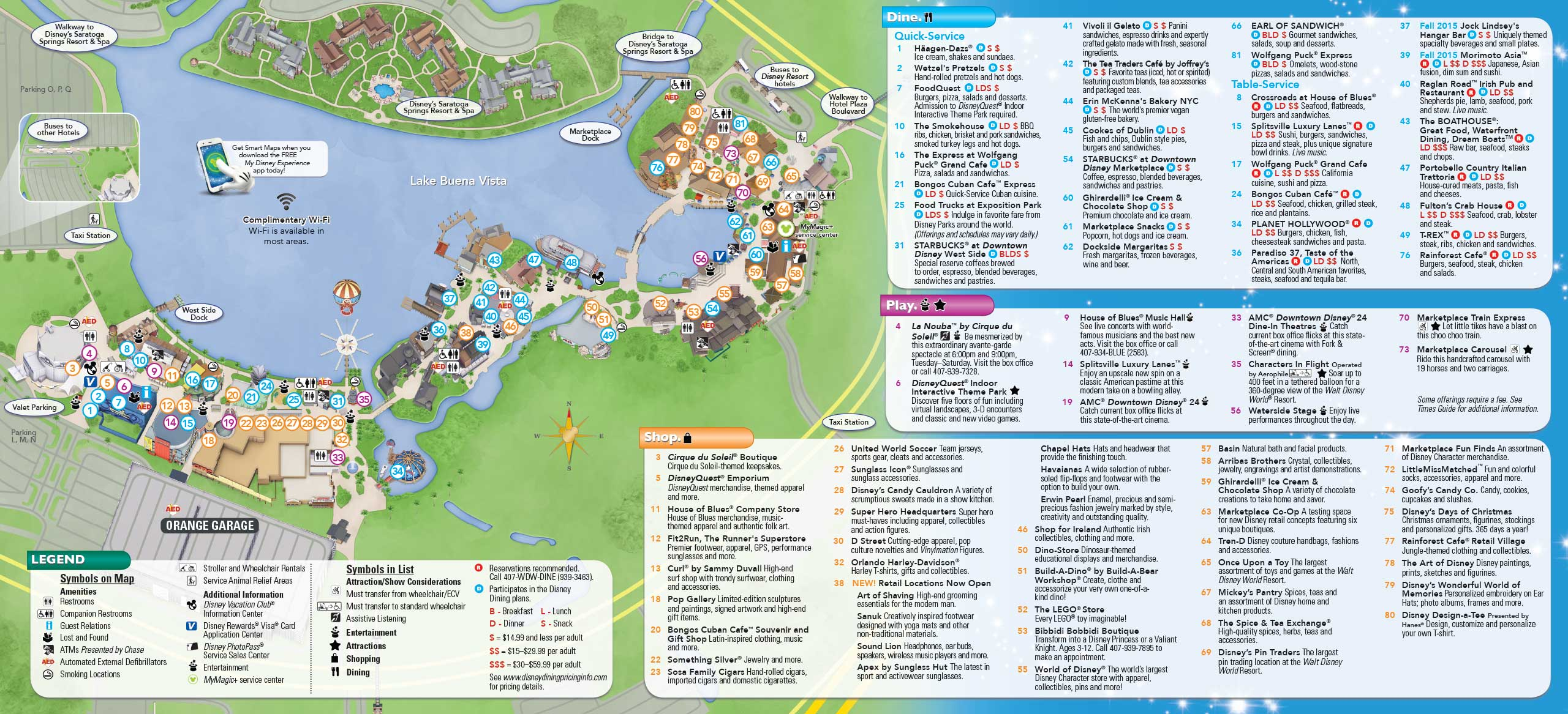 wdw magic kingdom map with 03aug2015 Photos New Downtown Disney Guide Map Includes Disney Springs Name And New Restaurants on Skywaytofantasyland moreover Disney World Avatar Pandora Theme Park besides Wdw 2016 Crowd Calendar besides 3 World Class Drum Corps Groups To Perform This Sunday At Disney Springs besides Disneys Animal Kingdom.