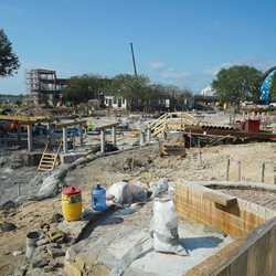 The Springs construction