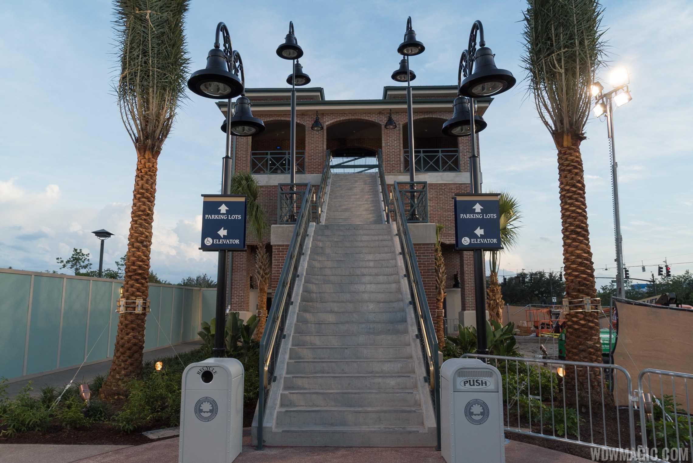 Leaving Disney Springs towards Team Disney