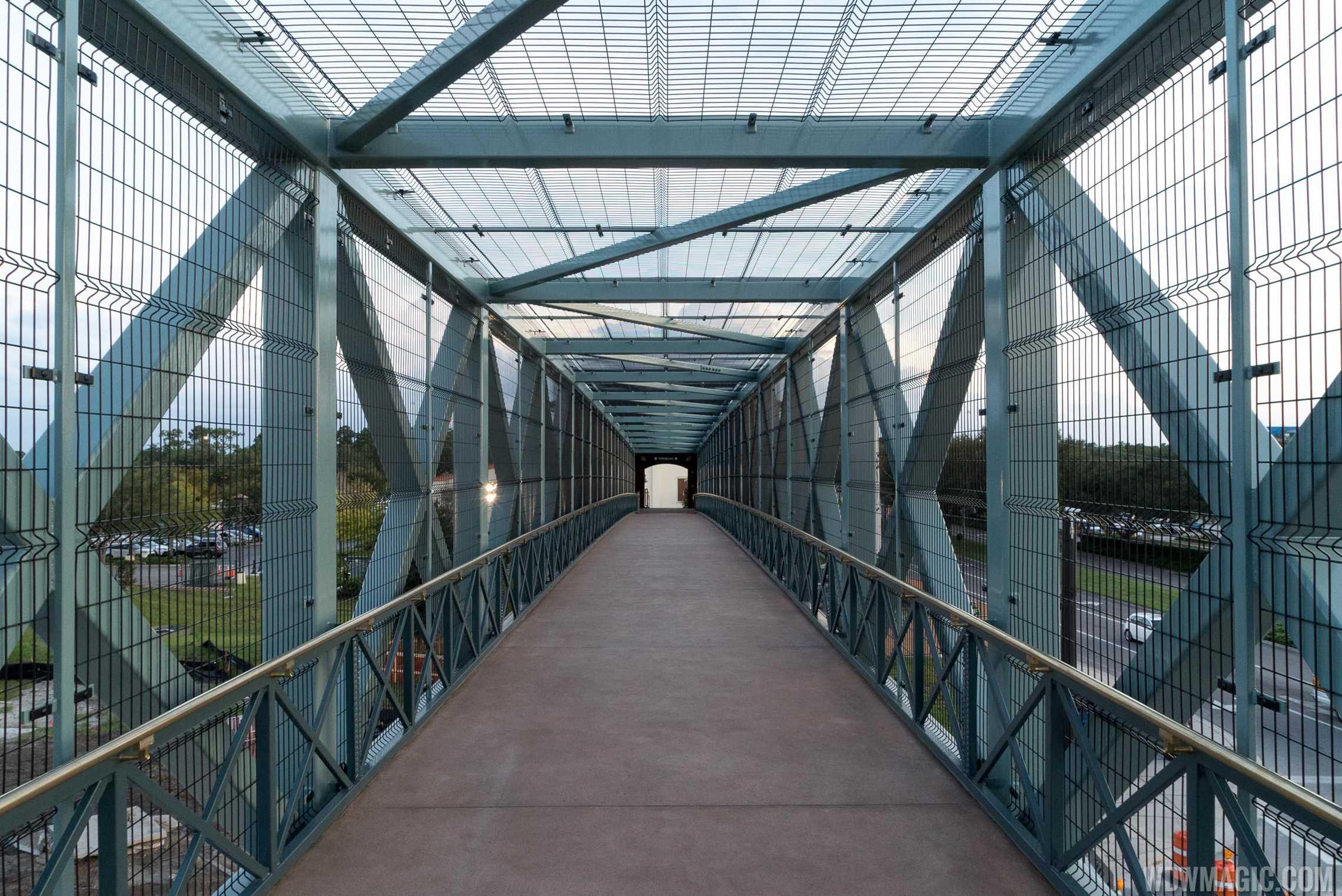 Looking across the bridge towards Team Disney